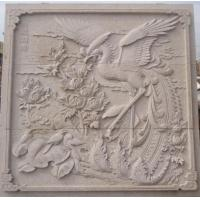 Wholesale Garden Wall Relief Sculpture Of Phoenix from china suppliers