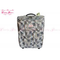 Lightest Weight 21 inch luggage / suitcases with 4 wheels , Koala Climbing Bamboo Design Manufactures