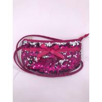 Wholesale Sequin Shoulder Bag,Crossbody Bag with Zipper Pockets,Two-sided sequin bag from china suppliers