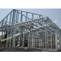 Buy cheap Prefab House Light Steel Villa Metal Buildings With Welded Frame Easy Construction from wholesalers
