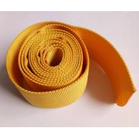Buy cheap Polyester Nylon Webbing , Red Yellow Woven Webbing For Protective Rubber Hose from wholesalers
