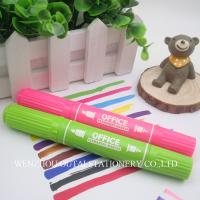 Buy cheap OUTAE Durable Permanent  Marker Pen  double head Promotional Pen LogoPen 12 Colors from wholesalers
