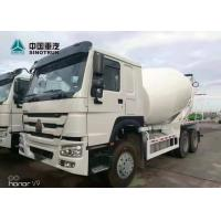 Buy cheap SINOTRUK HOWO 371hp Stock Concrete Mixer Truck 10 Wheels ZZ1257N3847A from wholesalers