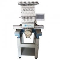 Buy cheap Hat Cylinder Single Head Multi Needle Embroidery Machine 7.0 Inch Color Monitor from wholesalers