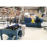 Buy cheap Low Noise Twin Screw Compounding Extruder , PP / PE Plastic Extrusion Machine from wholesalers