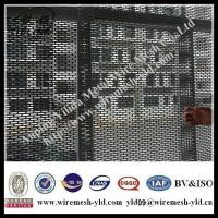 Buy cheap slotted hole perforated decorative metal mesh/pvc coated perforated metal mesh from wholesalers