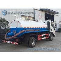 Buy cheap FAC 4*2 2m3 Water Tanker Truck Sewage Suction Tanker Truck With Vacuum Pump from wholesalers