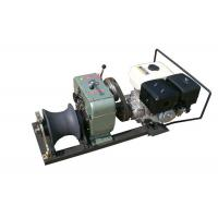 Buy cheap Stringing Wire Powered High Speed Winch Cylindrical Shape Steel Rope Coming from wholesalers
