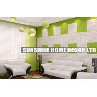 Buy cheap Waterproof 3D Wall Art Tiles , Bathroom 3D Decorative Wall Ceiling Panel from wholesalers