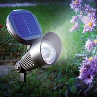 Wholesale Waterproof Wall and ground spot Solar LED Garden Lights aluminium casing from china suppliers
