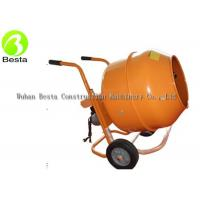Buy cheap 140 Liters Small Electric Concrete Mixer , Mini Cement Mixer ISO9001 Certification from wholesalers