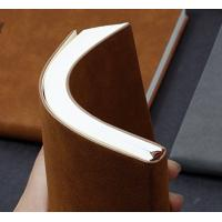 Buy cheap Soft Cover Bullet Journal Notebook With Waist Band / Inner Pocket / One Bookmarks from wholesalers