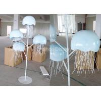 Buy cheap Metal Decorations Crafts Customized Size Handmade Metal Jellyfish Statue from wholesalers