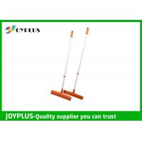 Buy cheap JOYPLUS Home Rubber Sweeper Broom , Rubber Push Broom With Handle 120cm from wholesalers
