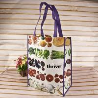 Buy cheap Decorative Pattern Gift Non Woven Shopping Bag Textured Tote Non Woven Cloth Bags from wholesalers