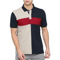 Buy cheap Slim Fit Office Polo Shirt For Men Short Sleeve 100 Cotton Fashion Anti - Pilling from wholesalers