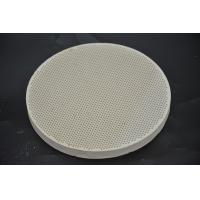 Buy cheap Refractory Ceramic Gas Stove Plates Round Shape For Baking Bread SGS from wholesalers