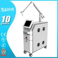 2015 hot sale Medical use Q switched nd yag laser / tattoo machine nd yag laser best laser beauty equipment Manufactures