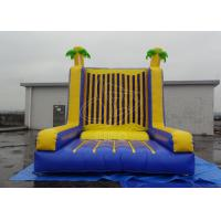 Buy cheap 0.4+0.55mm PVC Commercial Rental Inflatable Sticky Wall Hire Bouncer House For Adult from wholesalers