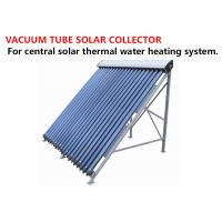 Buy cheap Durable Vacuum Tube Solar Collector Stainless Steel Mounting Floor Stand product