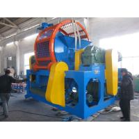 Wholesale Automatic Tyre Rubber Recycling Shredder Machine Tire Circle Cutting from china suppliers