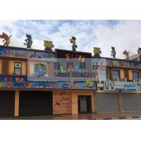 Buy cheap Fun Land 5D Movie Theater With Playground Equipment , Children Garden product