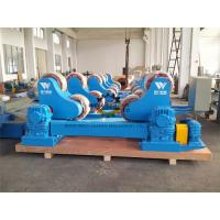 100 Ton Heavy Duty Pipe Rollers Rotator With Moving Wheels CE Approved Manufactures