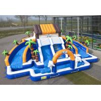 Buy cheap Commerial Outdoor Inflatable Water Slides Waterproof For school from wholesalers