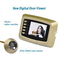 Buy cheap New Digital door eye viewer with doorbell peephole and Alloy Metal Case Camera from wholesalers
