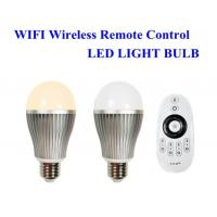 Wholesale E27 E26 B22 Wifi smart led light bulbs for pad / phone controlled 30 meters from china suppliers
