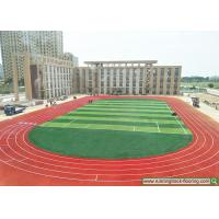 Buy cheap Construction project case - spray coating permeable running track - Hebei school product
