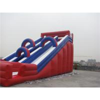Buy cheap Musement Park Giant Inflatable Water Slide For Rent Fire Resistance from wholesalers