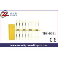 4.5mm Automatic Car Park boom Vehicle Barrier Gate with three fence Manufactures