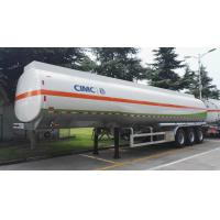 Buy cheap 45000L Used Stainless Steel Tanker Trailers LINGYU Brand For Oil Transportation from wholesalers