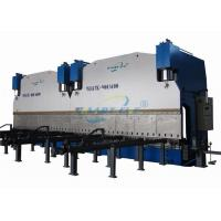 Buy cheap Large CNC Tandem Hydraulic Press Brake Bending Machine For Producing Electrical Poles 300ton 600ton 800ton 1200ton from wholesalers