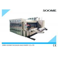 Buy cheap Automatic Corrugated Carton Box Digital 3 Color Flexo Printing Machine from wholesalers