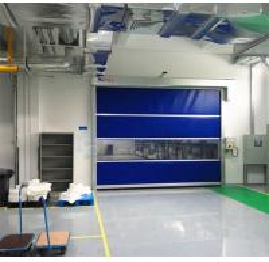 China Industrial PVC High Speed Shutter Door Galvanized Steel Frame Garage Shutter Doors on sale