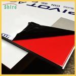 Buy cheap PE Protective Film Rolls For Aluminium Composite Panel Black / White APC Aluminium Film from wholesalers