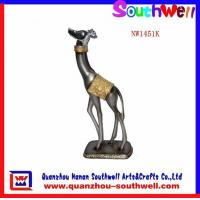 Buy cheap Polyresin Giraffe Statues from wholesalers