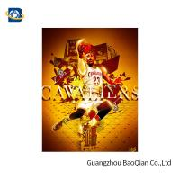 Wholesale Colorful 3D Lenticular Poster Printing For NBA Advertising 50 * 71cm from china suppliers