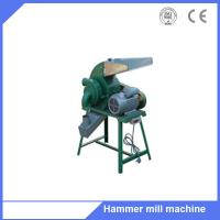 Buy cheap Animal poultry feed corn grain wheat hammer mill grinding machine for sale from wholesalers