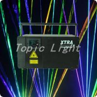 Buy cheap 3D animated graphics 3.1W RGB Laser Stage Light with 637nm Red Diode product