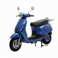 Buy cheap EEC Electric Motorcycle with Removable Lithium Battery, Charged at Home from wholesalers