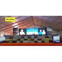Buy cheap 40 x 100m Huge Trade Show Event Tents With Wood Floor For Export Trade Exhibition from wholesalers