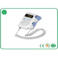 Buy cheap Baby Sound Handheld Fetal Doppler , Baby Heart Doppler For Routine Examination from wholesalers