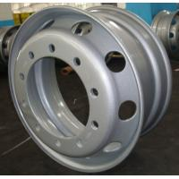 Buy cheap 22.5*9.00 silvery tubeless wheel rims from wholesalers