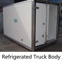 Buy cheap Factory Direct Sale 7, 8, 9 tons Refrigerated Van Box from wholesalers