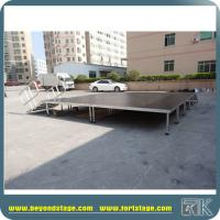 Hot Sell Good Mobile Stage Platform for Outdoor Events Stage with Adjustable Aluminum Legs Performance Equipment Staging Manufactures