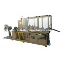 Buy cheap Automatic Radiator Fin Machine 0.6Mpa Pneumatic System Working Pressure from wholesalers