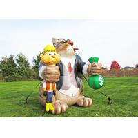 Buy cheap Pvc Inflatable Advertising Props , Outdoor Activity Use Cartoon Model from wholesalers